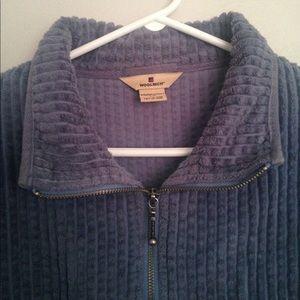 Blue Woolrich jacket